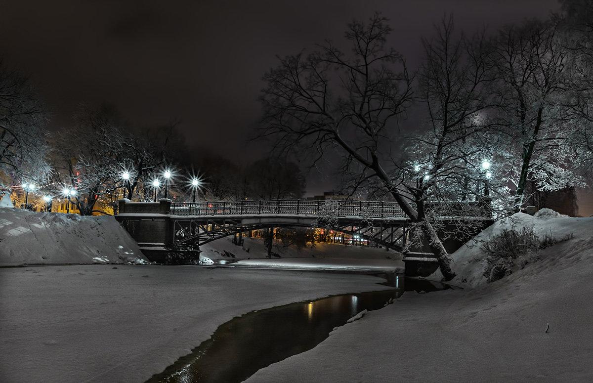 Пешеходный мостик Тимма, Рига - Егор Егоров
