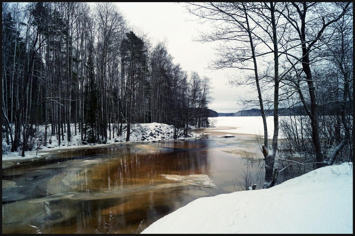 Зимний пейзаж. - сергей лебедев