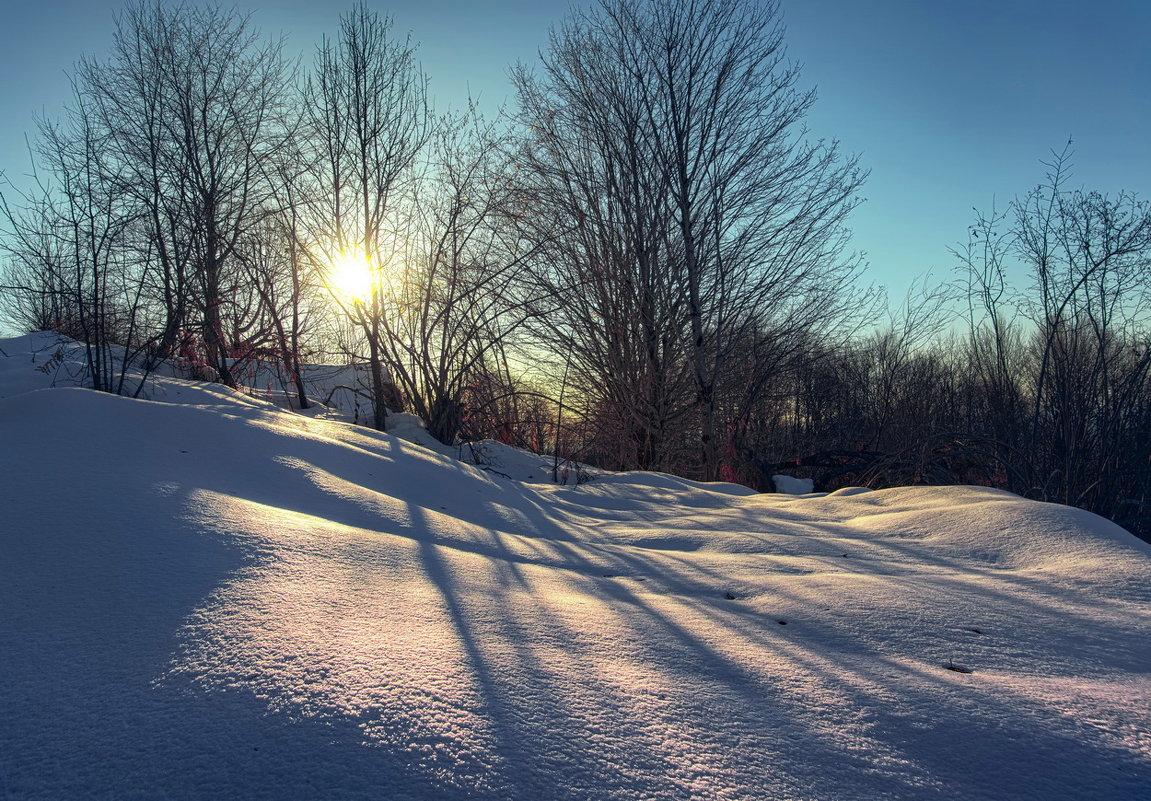 Зима в горах Абхазии - Александр Криулин