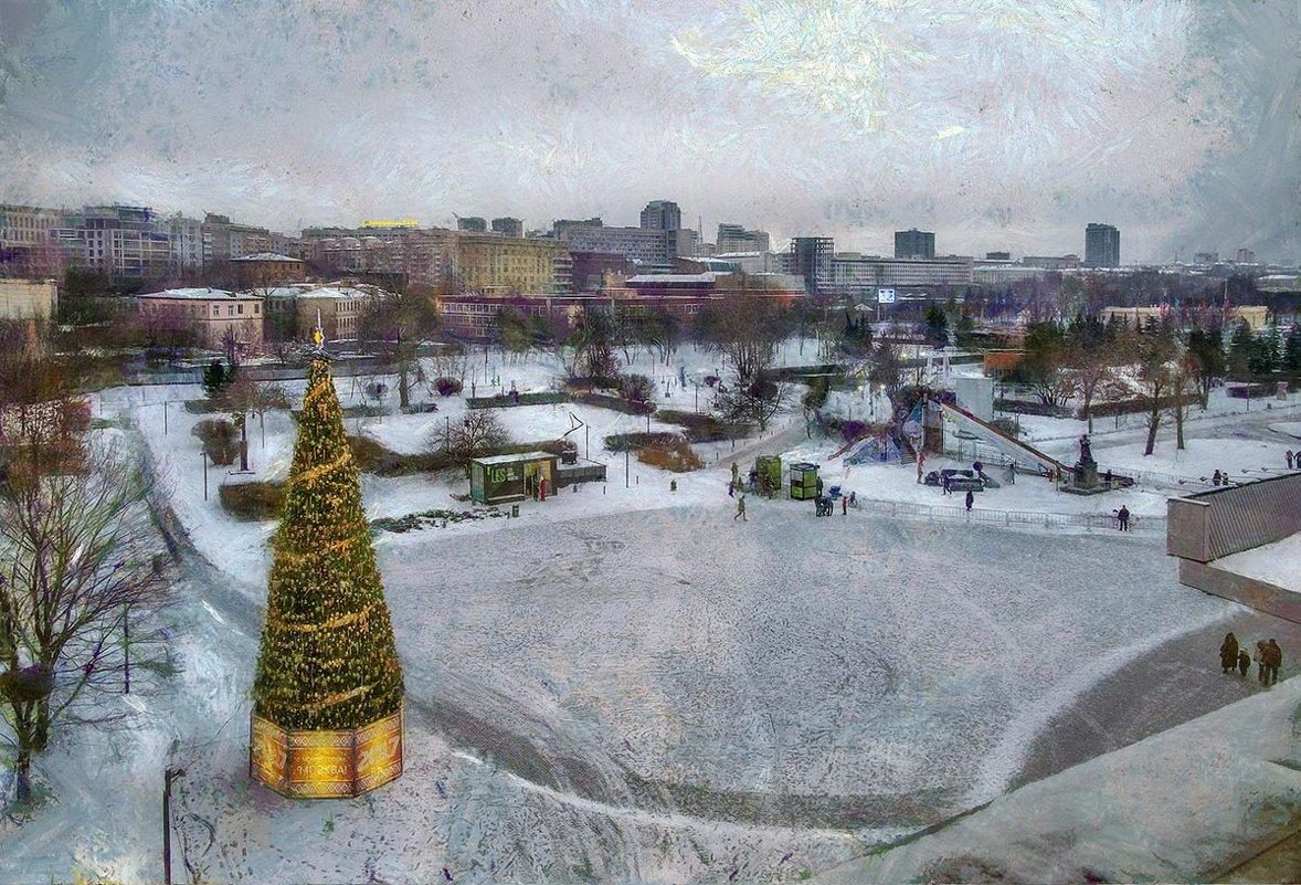 Мне чудится: вспять обратилась зима, пустынна её панорама... - Ирина Данилова