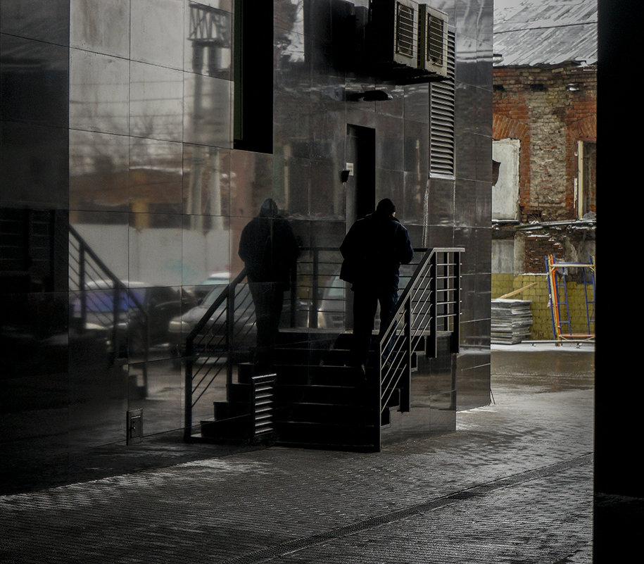 Московский дворик - Людмила Синицына