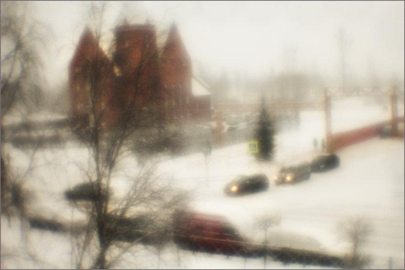 Снежок - galina bronnikova