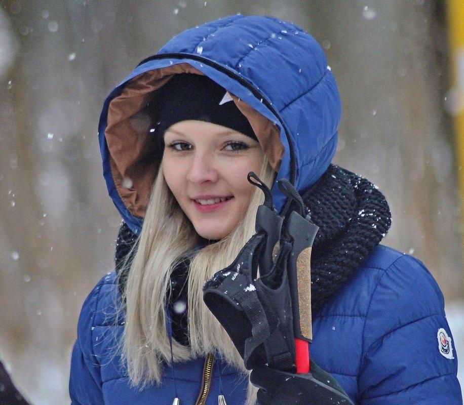 Спортсменка,красавица... )) - Юрий Анипов