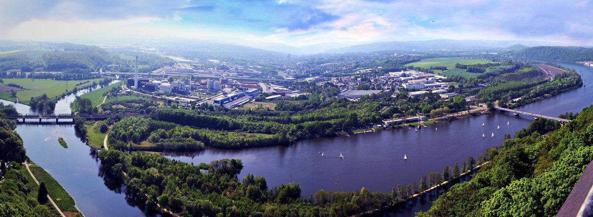 река Рур - Александр Корчемный