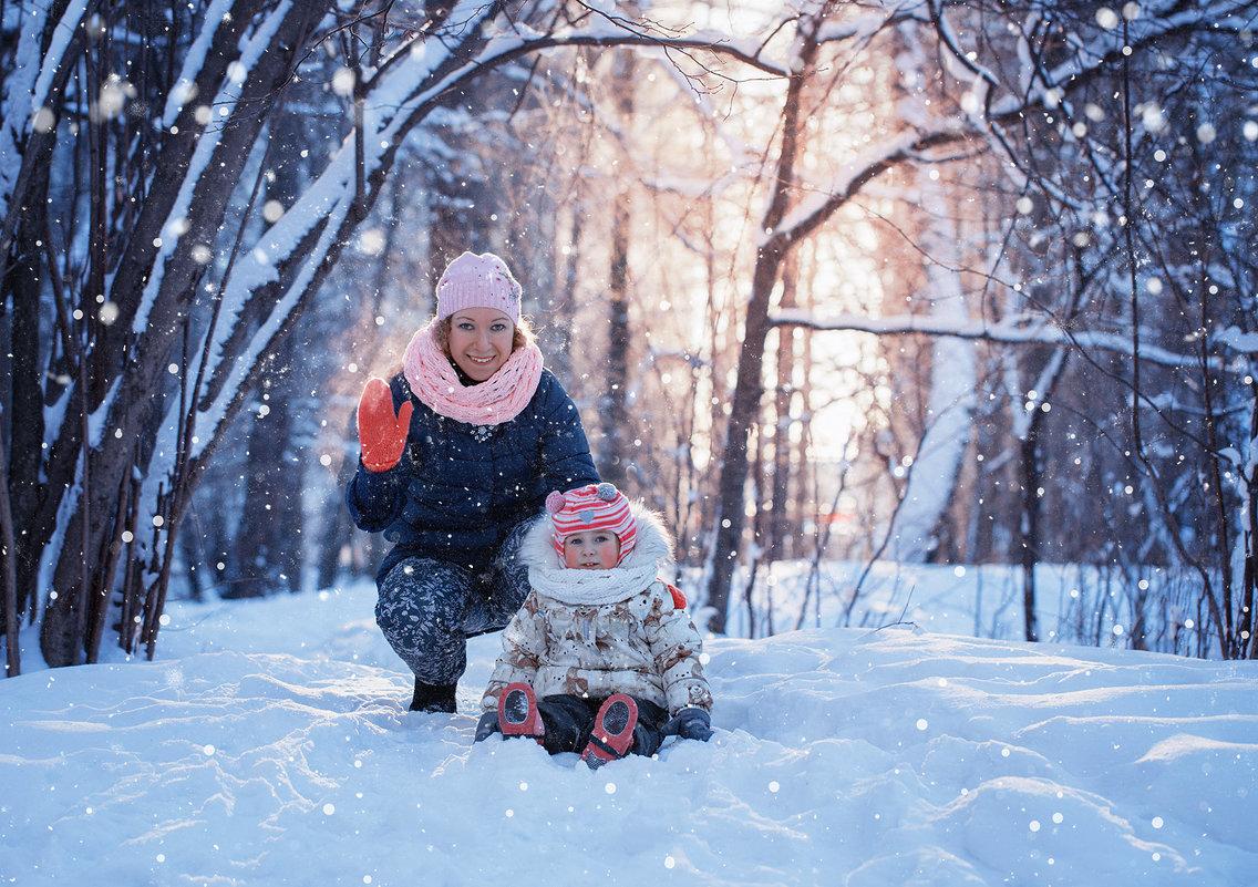 зимняя сказка в лесу - Эльмира Суворова