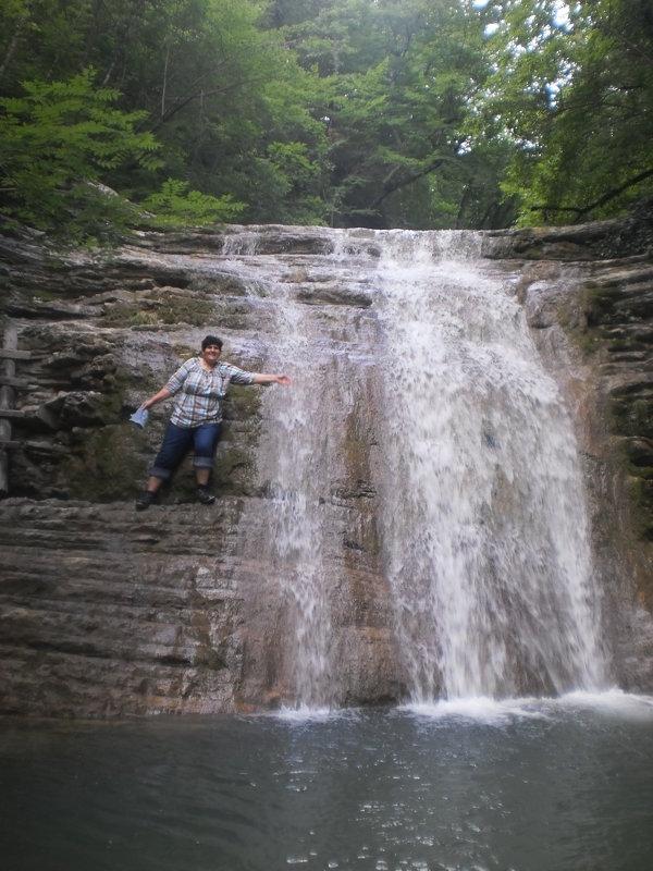 Красота водопадов очаровывает - ТАТЬЯНА