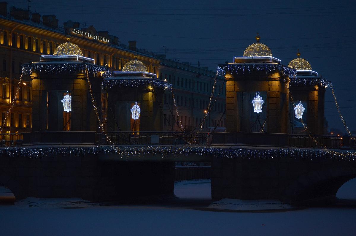 Мост Ломоносова - Наталья Левина