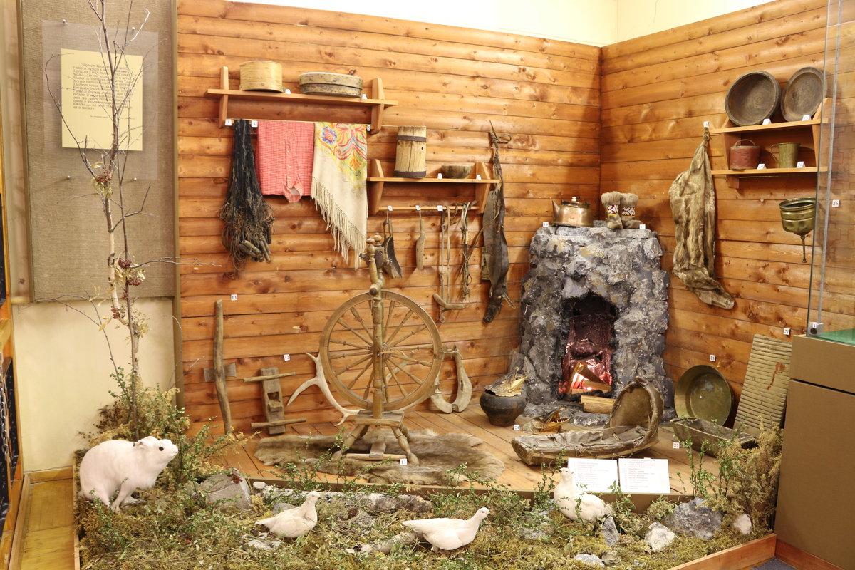 В краеведческом музее Ковдора - Ольга