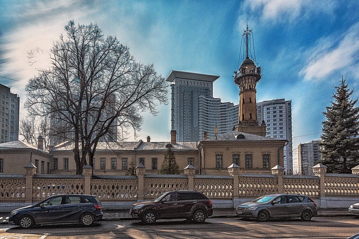 Москва.Сокольники. Пожарная каланча - Alexsei Melnikov
