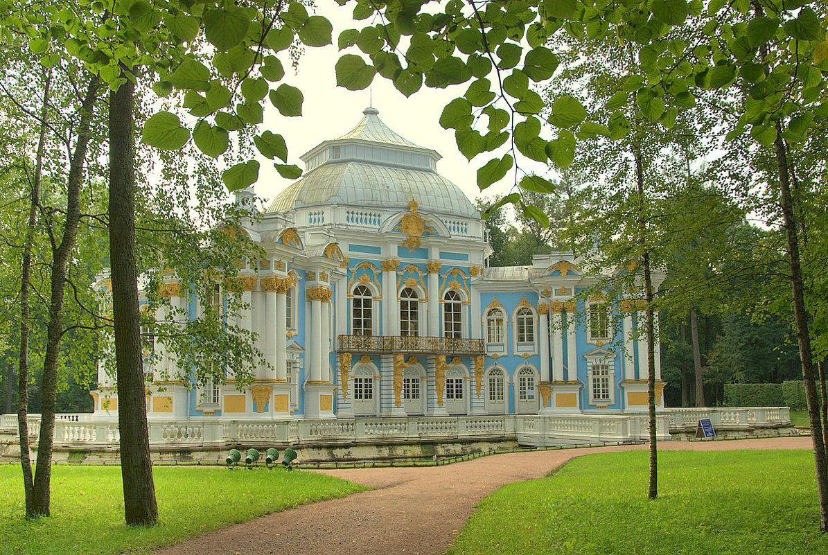 Павильон Эрмитаж в г.Пушкин (Царское село) - Наталья