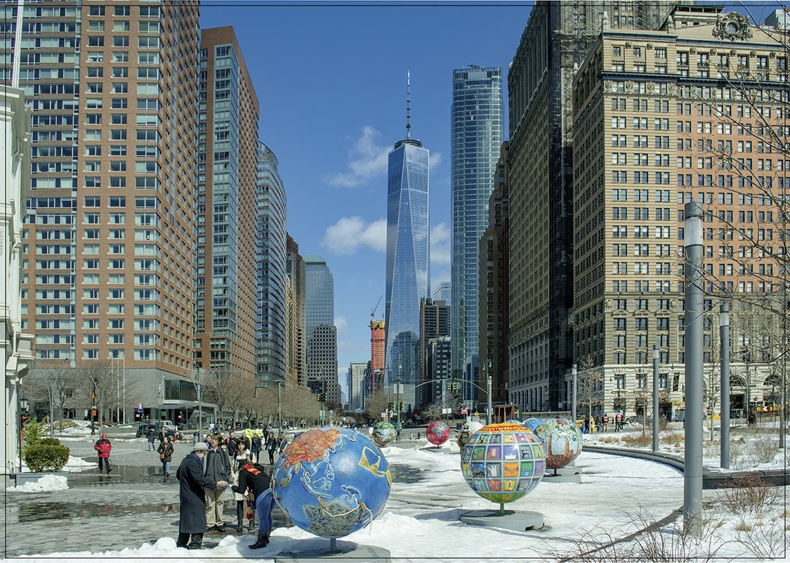 весна - она и в Нью Йорке весна! - Petr @+