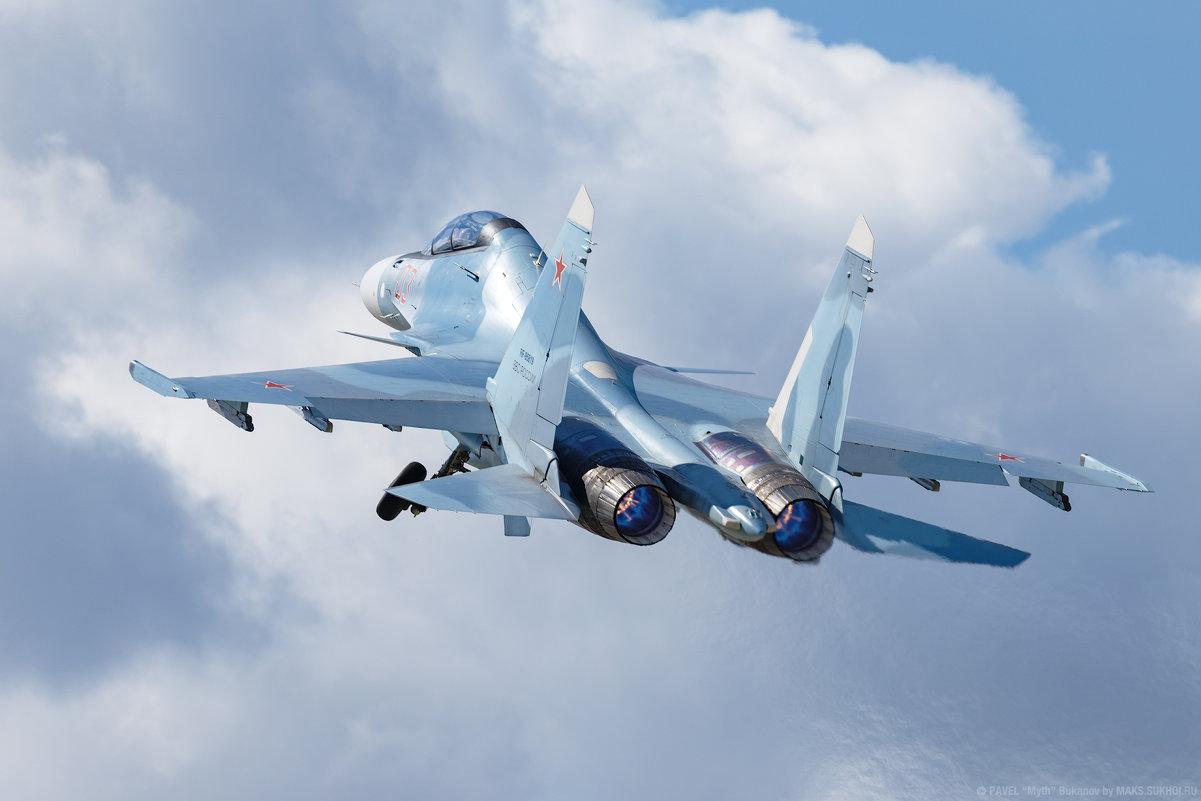 Су-30СМ Липецкого авиайентра им. В.П. Чкалова - Павел Myth Буканов