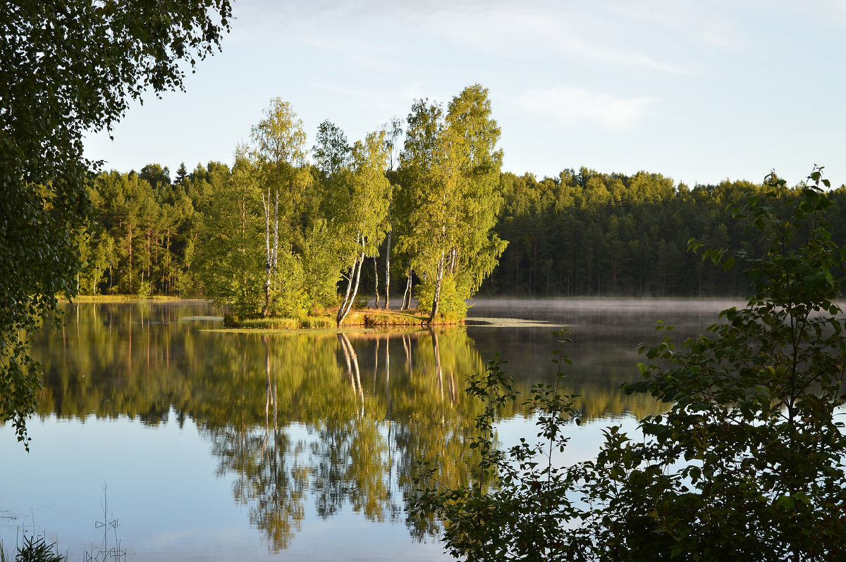 Утро на озере... - Юрий Цыплятников