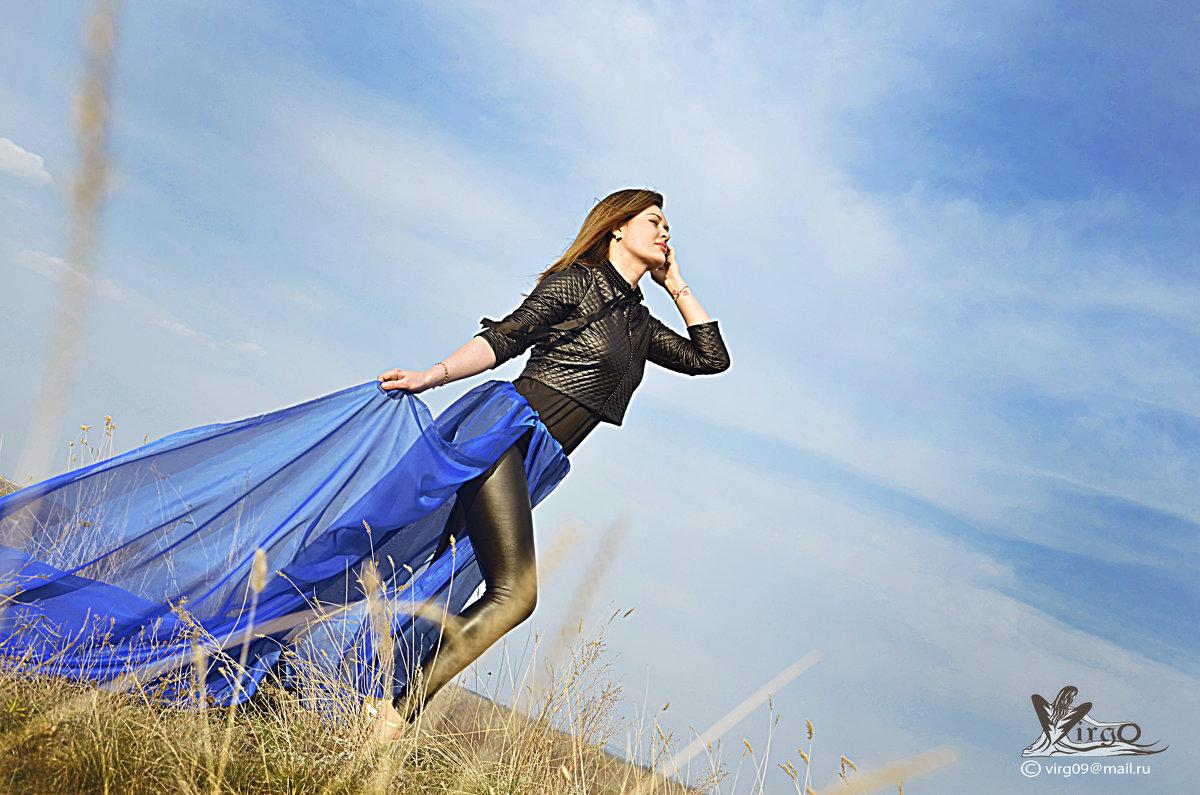 Синяя вуаль - Наталья Изразова