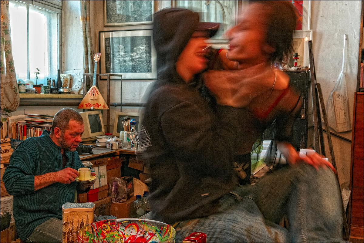 Константин Скотников в стиле #FrancisBacon - Андрей Пашис