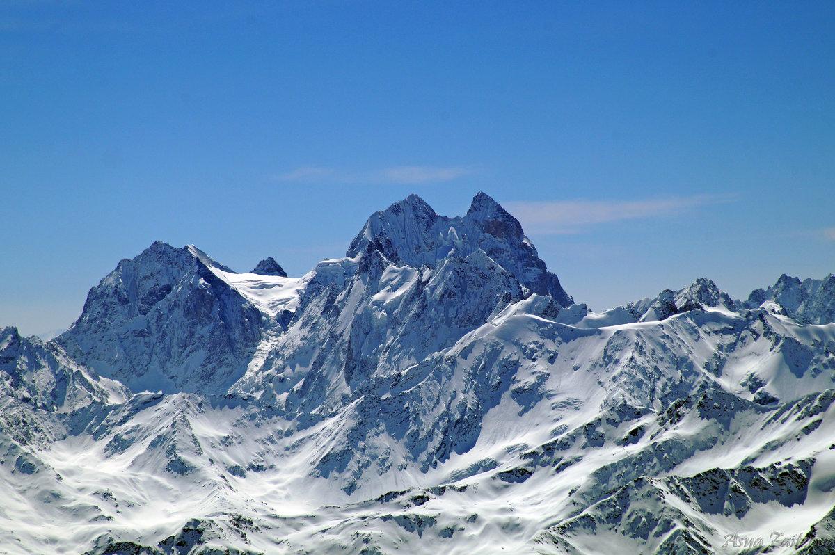 Горе-гора, красавица Ушба - Ася Зайцева