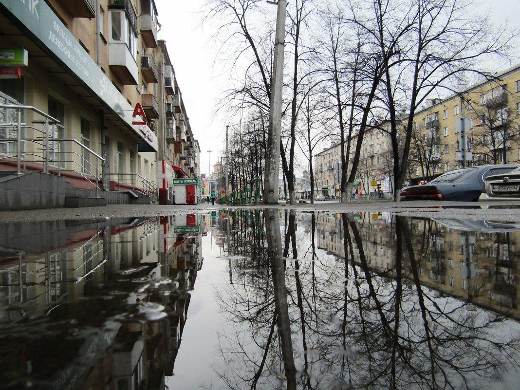 """""""Промокший город отразился в лужах..."""" - Galaelina ***"""