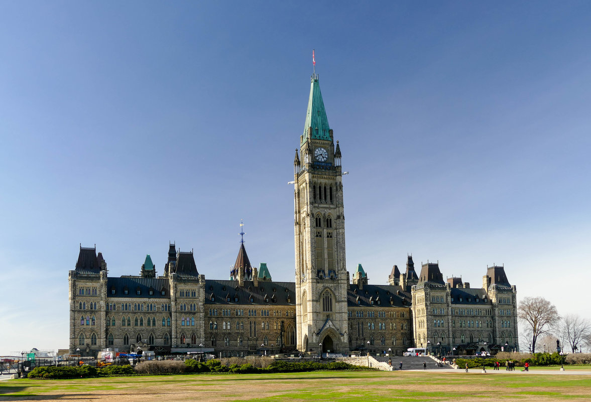 Здание парламента Канады в Оттаве (Канада) - Юрий Поляков