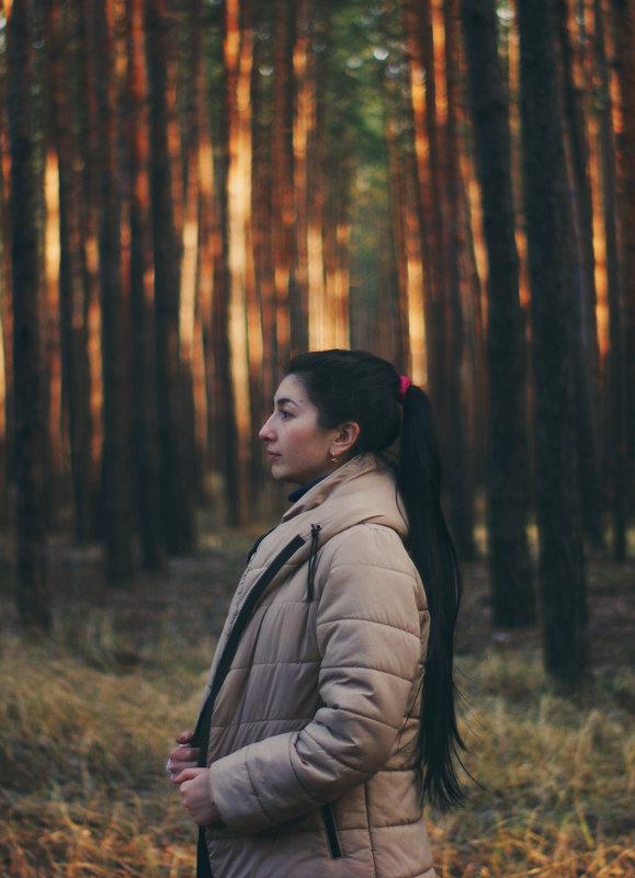 В лесу - Михаил