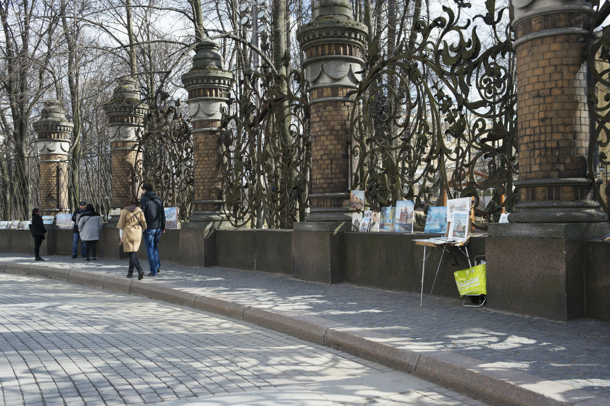 У Михайловского сада - Aнна Зарубина