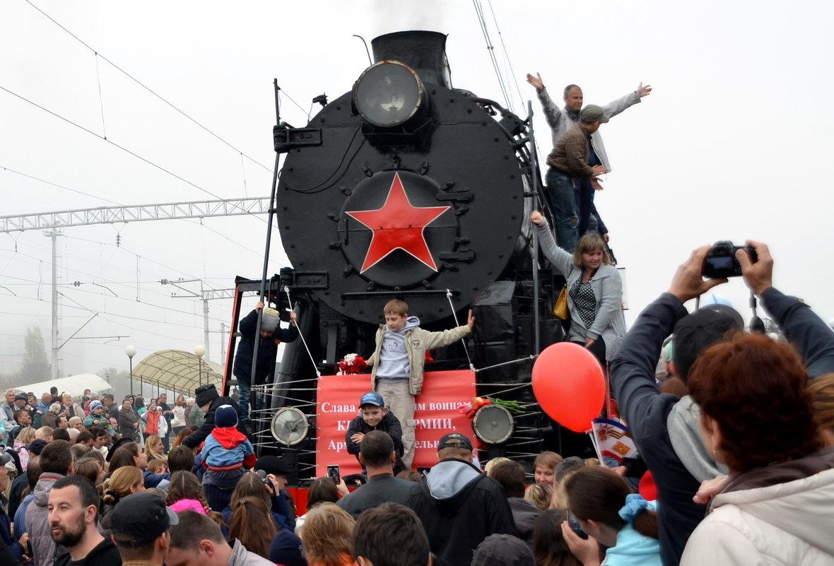 Прибытие поезда Победы - Ольга Голубева