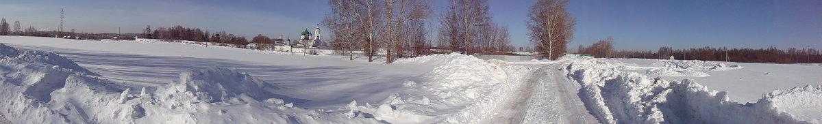 Толгский монастырь , зима и снег - Владимир Мазур