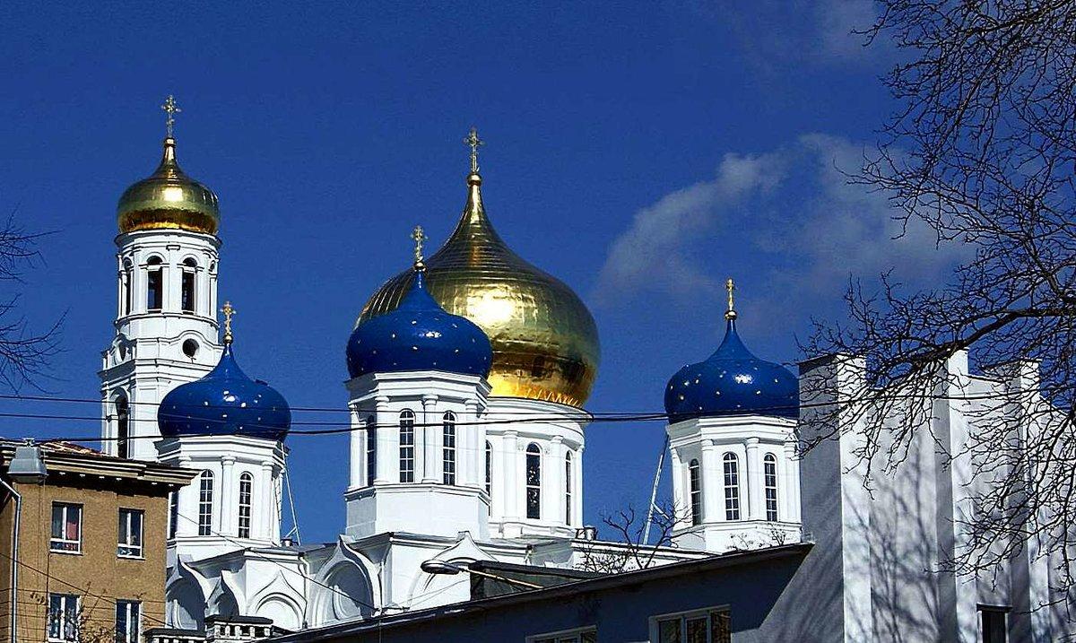 купола Свято-Успенского кафедрального собора - Александр Корчемный
