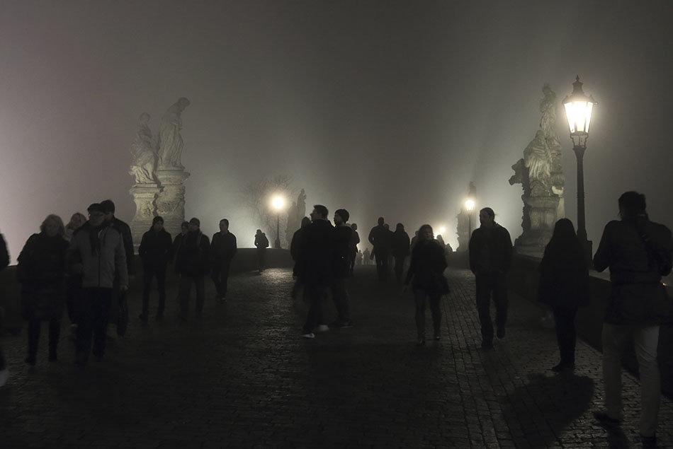 Прага.Карлов мост - Татьяна Панчешная