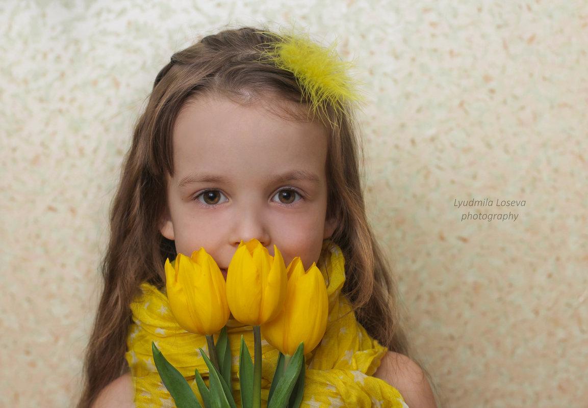 Дарите жёлтые цветы..... - Людмила Лосева