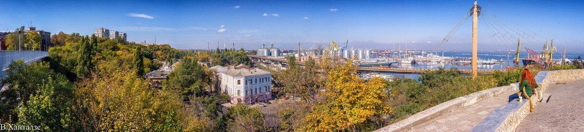 Осень с Приморского бульвара. - Вахтанг Хантадзе