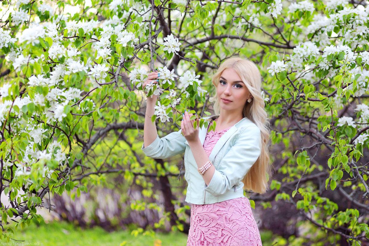 Один раз в год сады цветут!!! - Лина Трофимова