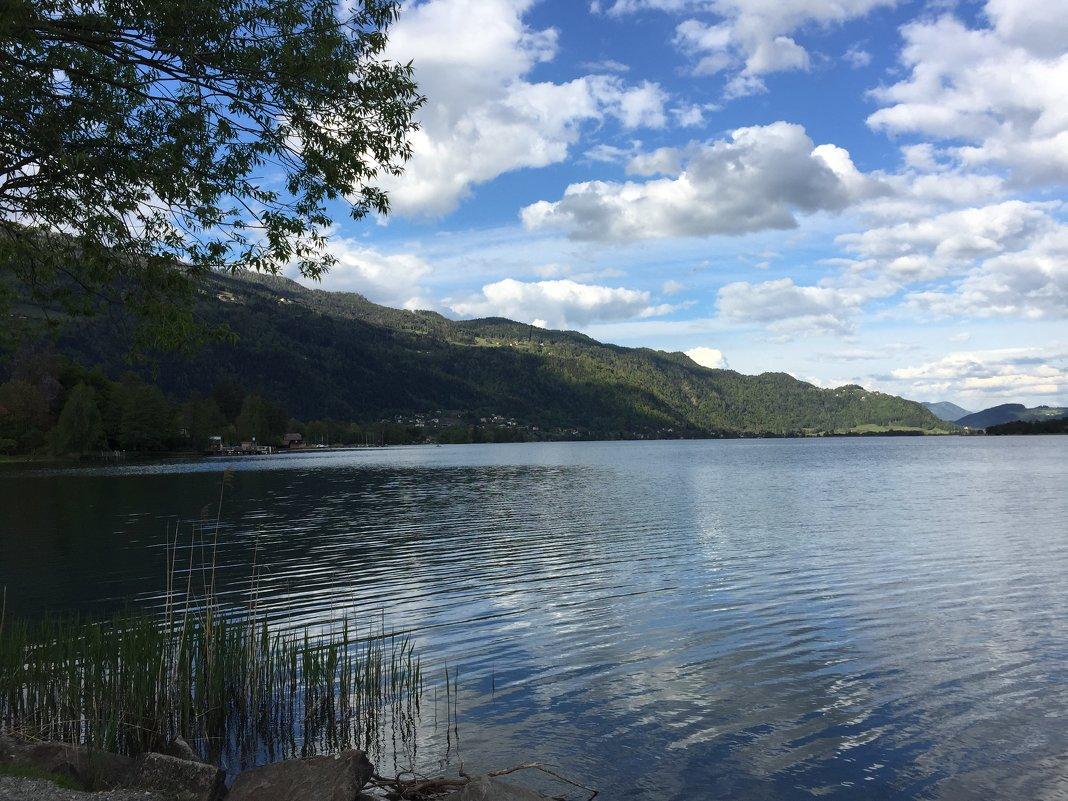 Австрия. озеро Озеахер - Johann Lorenz