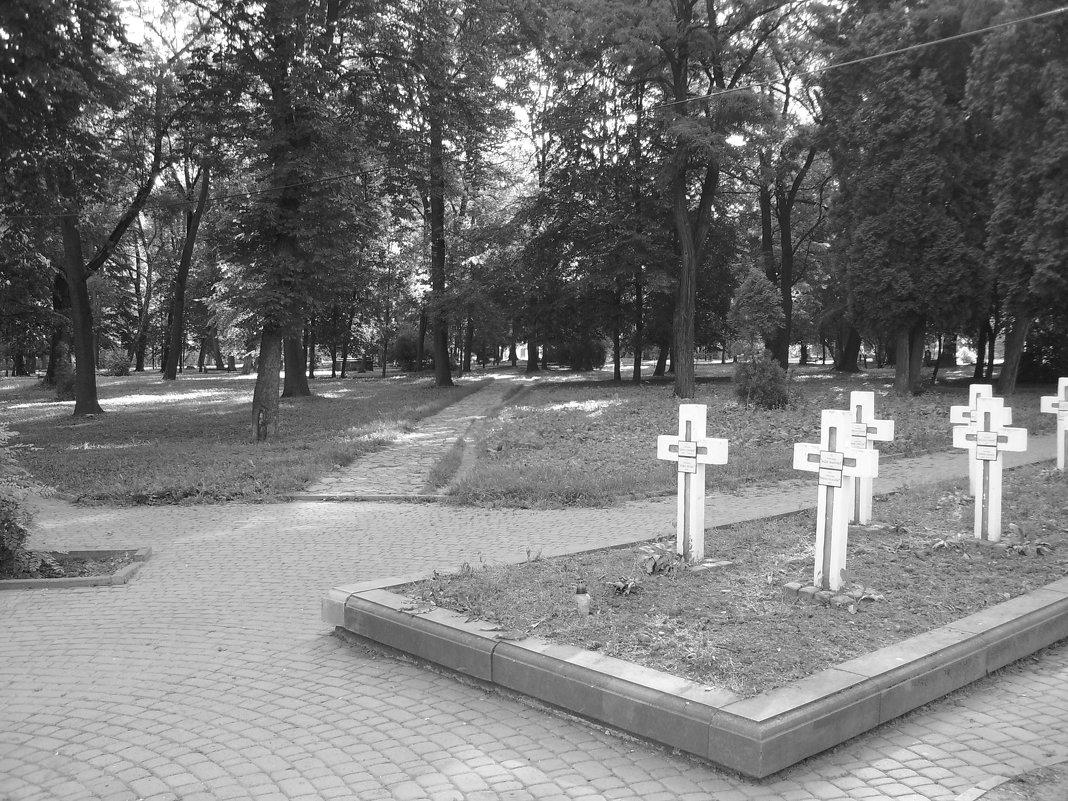 В   Мемориальном   Сквере   Ивано - Франковска - Андрей  Васильевич Коляскин
