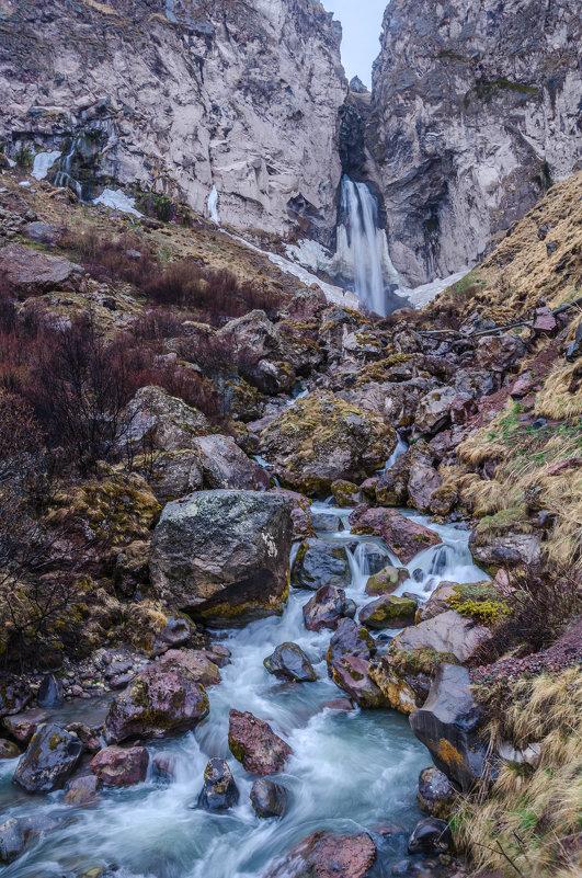 Водопад в Джилы-сы - Иван Коваленко