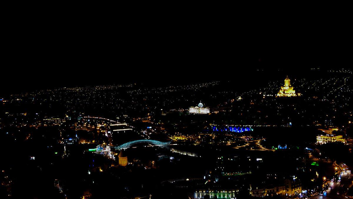 Ночной Тбилиси - Anna