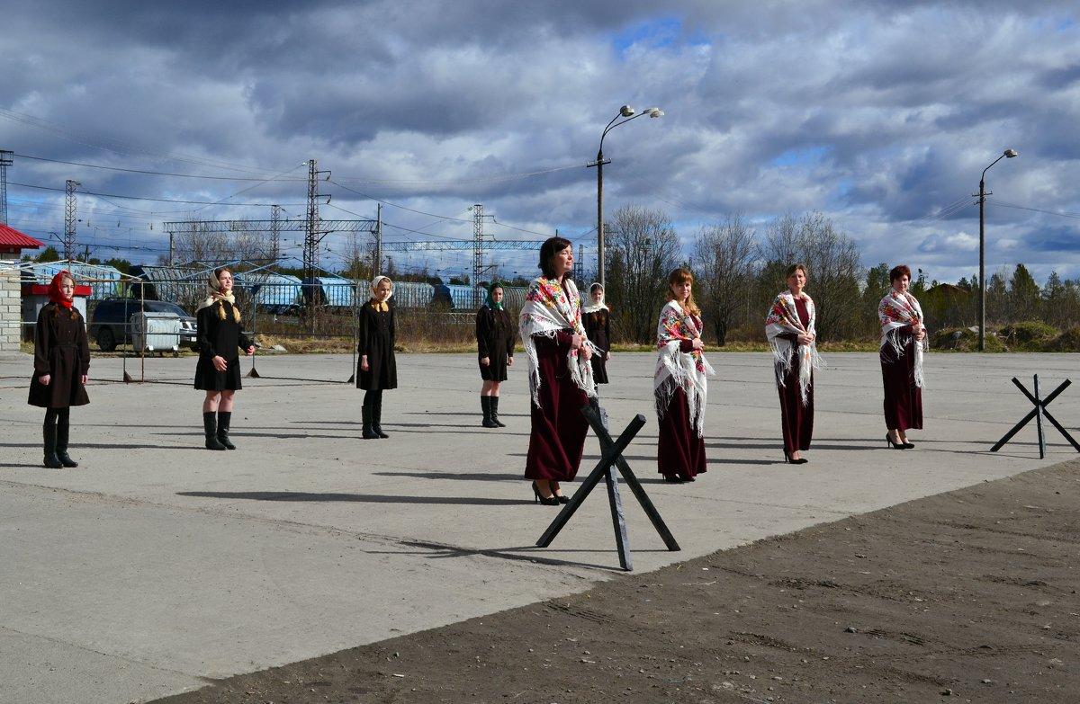 По пути следования Бессмертного полка - Ольга