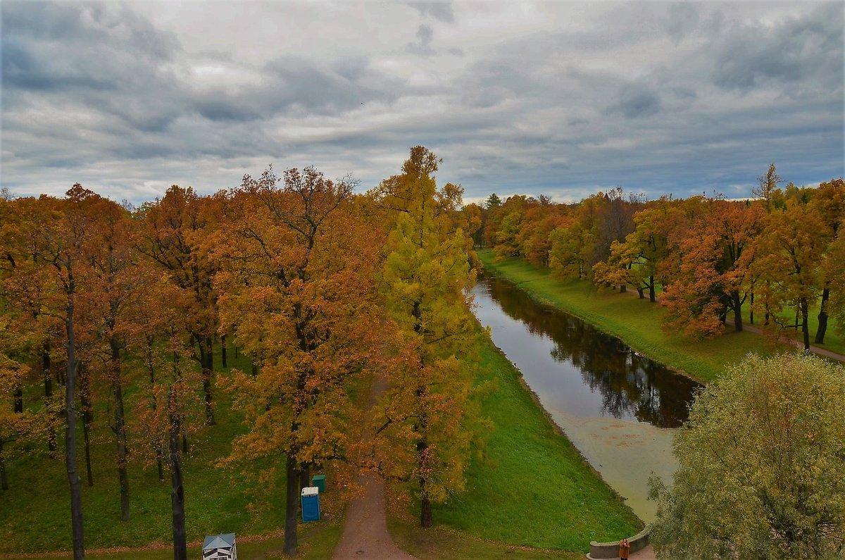 Вид с Башни-Руины на Виттоловский канал... - Sergey Gordoff
