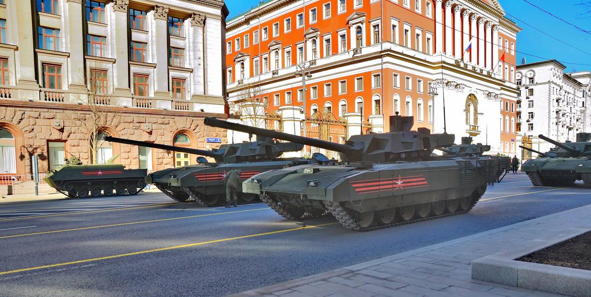 Генеральная репетиция парада Победы в Москве - Алексей Михалев