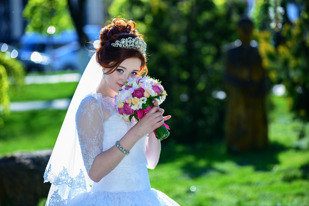 Невеста с букетом - iv12