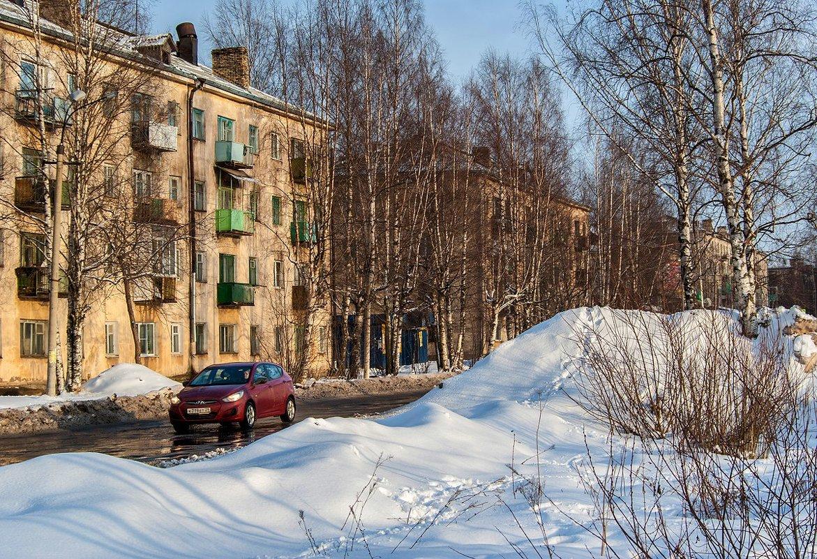 Улицы нашего городка - Валентин Кузьмин