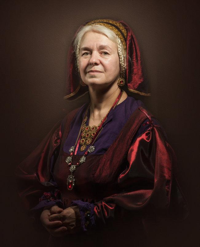Портрет дамы в красном - Олег Дроздов
