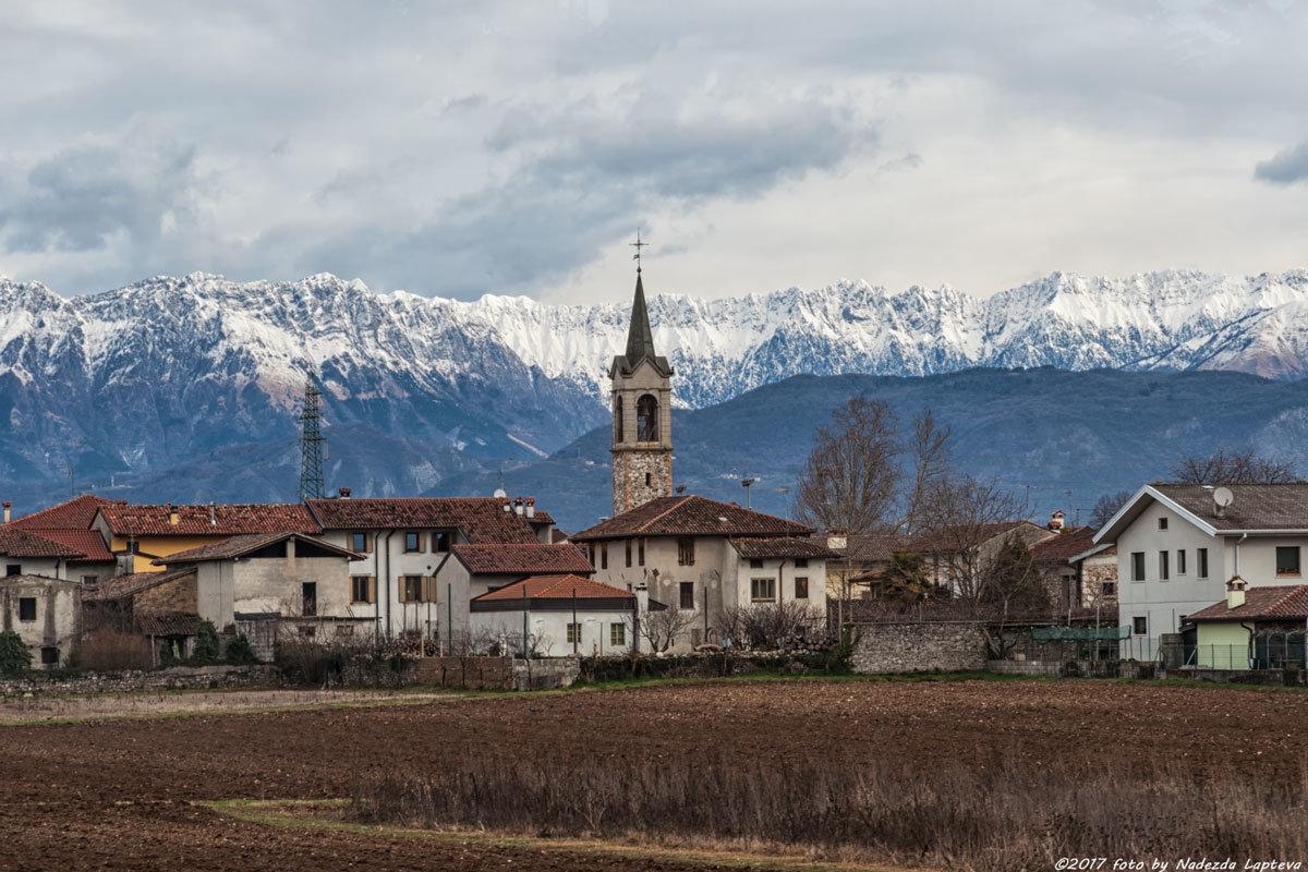 Итальянский пейзаж - Надежда Лаптева