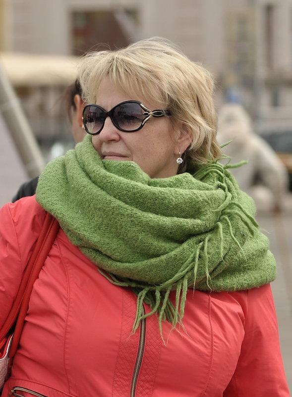 *зелёный шарф*) - Юленька Шуховцева*