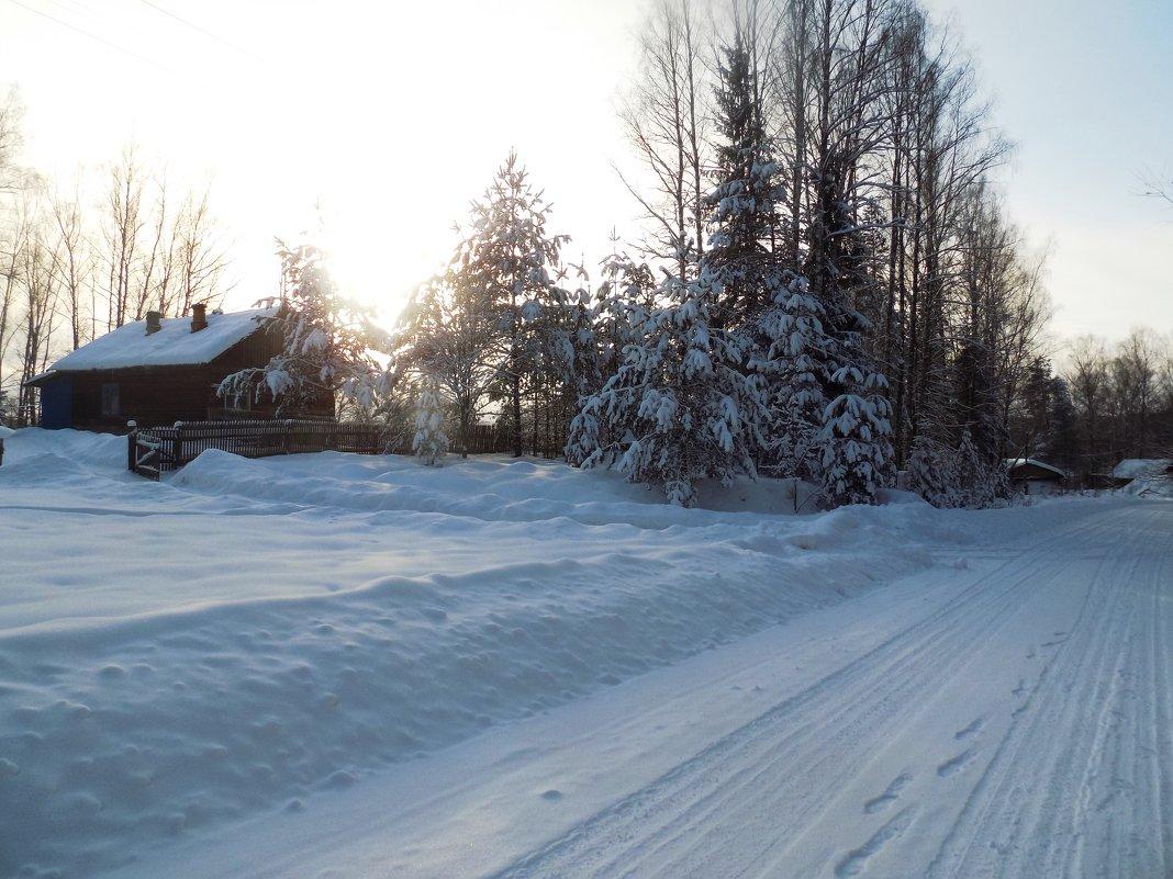 Зима на Селе - Андрей .