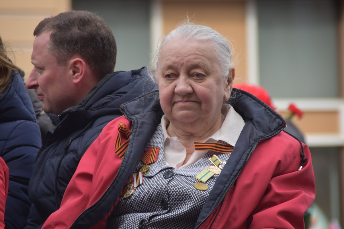 Ветеран войны, житель блокадного Ленинграда... - Валерий Подорожный