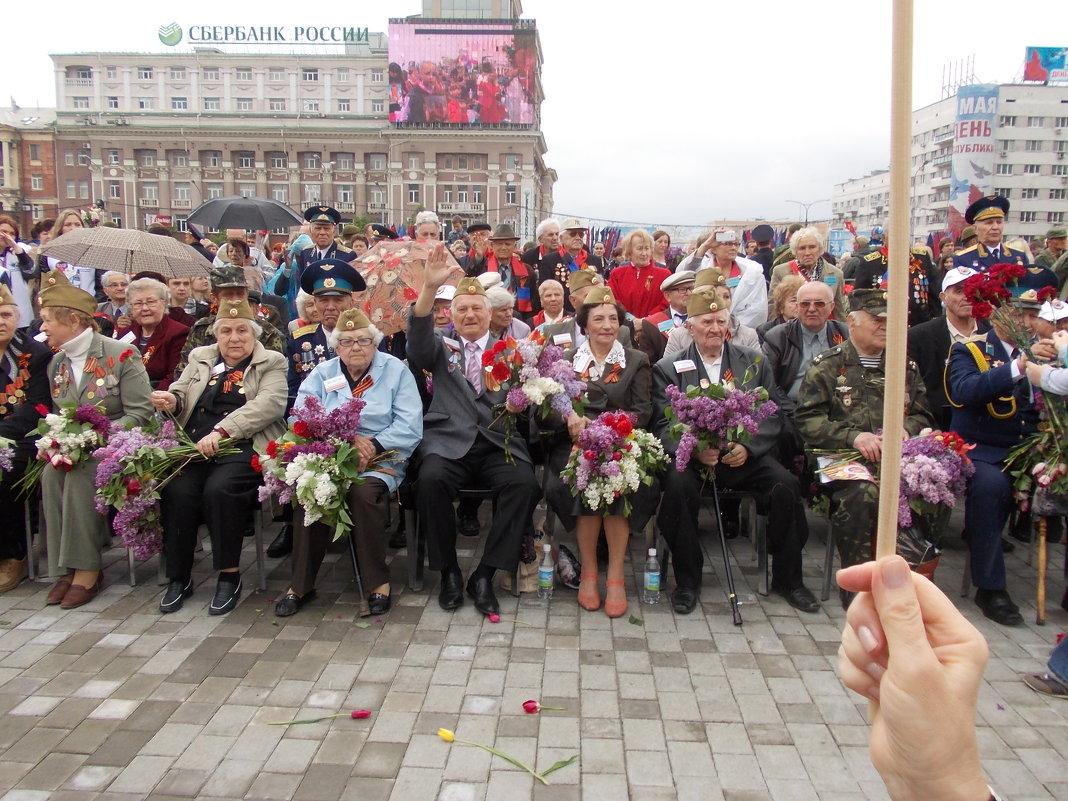 Ветераны 9 мая 2017 год - Владимир