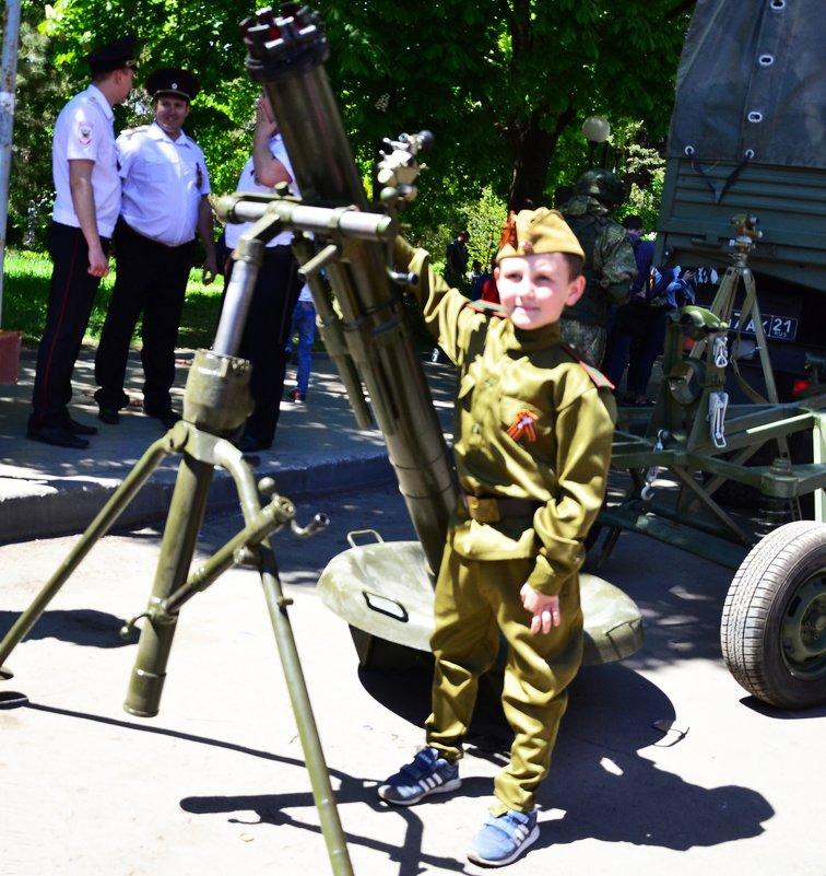 Полковой 120 мм миномёт 1943 года. - Владимир Болдырев