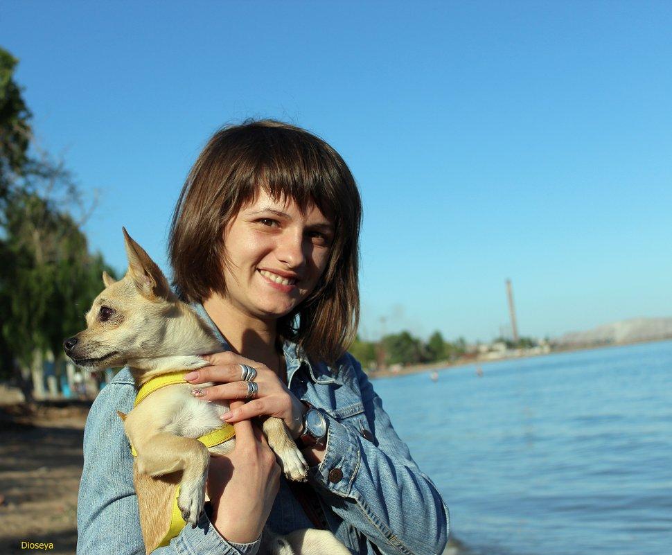 Дочка Лена и Тайсон - Татьяна Пальчикова