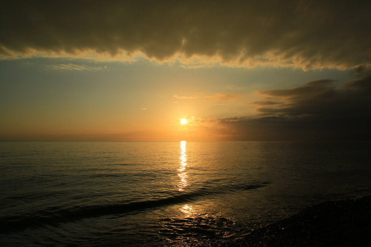 Перед закатом солнца - valeriy khlopunov