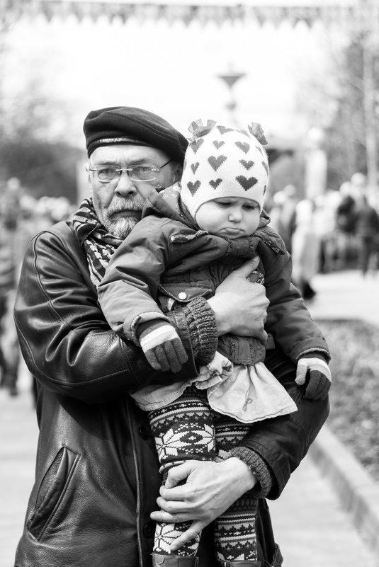 Со внучкой - Ольга Лапшина
